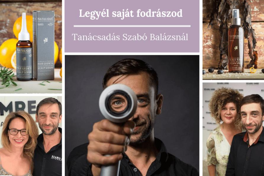 Legyél a saját fodrászod - hajápolási és styling fodrászati tanácsadás Szabó Balázsnál