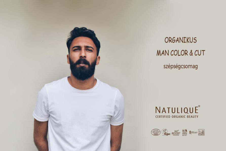 ORGANIKUS MAN COLOR & CUT szépségcsomag